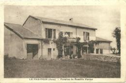 LE FRASNOIS (Jura) - Pension De Famille Favier - Autres Communes