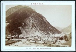 Italien / Italy: Raibl (Cave Del Predil) Mit Dem Königsberg  Cca1890 - Places