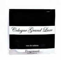 échantillons De Parfum  POCHETTE  COLOGNE GRAND LUXE  De  FRAGONARD  EDT   2 Ml - Echantillons (tubes Sur Carte)