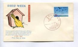 BIRD WEEK - RYUKYU ISLANDS, YEAR 1963, FIRST DAY OF ISSUE FDC -LILHU - Ryukyu Islands