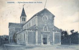 76 Dieppe Eglise Notre Dame Du Pollet Cachet 1924 - Dieppe