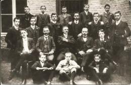 HERVE - Elèves Et Professeurs De L'Ecole De Cordonnerie En 1907 (photo) - Herve