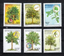 Kongo (Brazzaville) 2005**, Meerrettichbaum, Sukkulente Moringa Oleifera / MNH, Horseradish Tree, Succulent Moringa - Sukkulenten