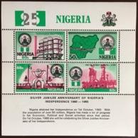 Nigeria 1985 Independence Anniversary Minisheet MNH - Nigeria (1961-...)