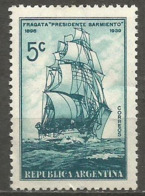Argentina - 1939 Training Ship 5c MNH **     Sc 458 - Ungebraucht
