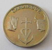 France - Médaille Camarague En Métal Doré - Touristiques