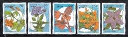 Kongo (Brazzaville) 1993**, Blüten Afrik. Pflanzen, Sukkulente / Kongo (Brazzaville), MNH, Blossoms Of Afr. Plants - Sukkulenten