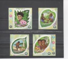VANUATU - Reforestation - Environnement - Plantation D'arbres, Enfant Mangeant Un Fruit, Etc - Arbres - - Vanuatu (1980-...)