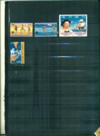 CHILE J.O. SEOUL -EXFILNA 89-WORLD STAMP EXPO 89 5 VAL NEUFS A PARTIR DE 1 EURO - Chili