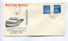 POSTCARD AIRMAILS - RYUKYU ISLANDS, YEAR 1963, FIRST DAY OF ISSUE FDC -LILHU - Ryukyu Islands