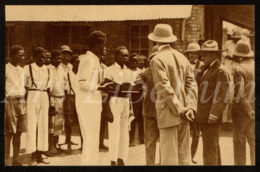 Postcard / CPA / ROYALTY / België / Belgique / Unused / Prins Leopold / Prince Leopold / Congo / 1926 / 2 Scans - Congo Belge - Autres
