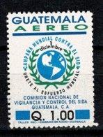Guatemala 1992 Yv. PA 841, Sc 845 Anti Aids Campaign (2 Scans) - Guatemala