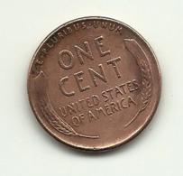 1949 - Stati Uniti 1 Cent - Emissioni Federali