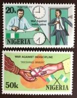 Nigeria 1985 War Against Indiscipline MNH - Nigeria (1961-...)