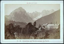 Italien / Italy: Königsberg Und Vischberggruppe Von Tarvis (Tarvisio)  Cca1890 - Places