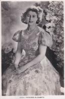 4 PostcardsUK  Royalties  Princess  Elizabeth Lord Mountbatten , Margaret  Circa 1950 - Royal Families
