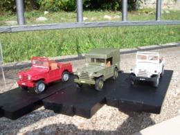 OFF 43 -  3 FIAT AR 59 CAMPAGNOLA POLIZIA CELERE E STRADALE  Scala 1/43 - Voitures, Camions, Bus
