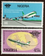 Nigeria 1984 Civil Aviation Anniversary Aircraft MNH - Nigeria (1961-...)