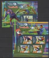 ML139 2015 MALDIVES WORLD  SPORT FOOTBALL KB+BL MNH - Calcio