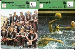 GF854 - FICHES EDITIONS RENCONTRE - WATER POLO - DESZO GYARMATI - Sports