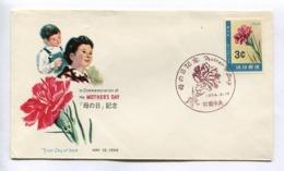 MOTHER'S DAY, COMMEMORATION - RYUKYU ISLANDS, YEAR 1964, FIRST DAY OF ISSUE FDC -LILHU - Ryukyu Islands