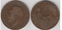 GRANDE-BRETAGNE - ONE PENNY 1917 - D. 1 Penny