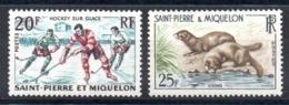 S.P.M. - YT N° 360-361 - Neufs ** - MNH - Cote: 9,50 € - St.Pierre & Miquelon