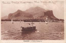 PALERMO - IL MONTE PELLEGRINO ~ AN OLD POSTCARD #96780 - Palermo