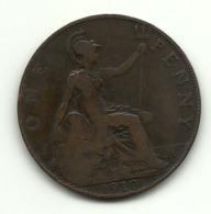 1910 - Gran Bretagna 1 Penny - Altri