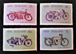 MOTOS ANCIENNES 1986 - NEUFS ** - YT 920/23 - MI 954/57 - Nouvelle-Zélande