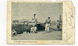 15002 Napoli - Spiaggia Della Marina Con Pescatori F001 - Napoli