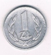 1 ZLOTYCH  1949  POLEN /6723/ - Poland