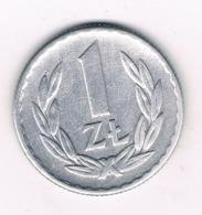 1 ZLOTYCH  1966  POLEN /6724/ - Polen