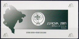 Europa 2007 - CRNA GORA Montenegro (scoutisme) Carnet Booklet Heftchen ** - 2007