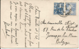 1929 - N° 257 + 237 Oblitérés (o) Sur Carte - BIARRITZ - Frankreich