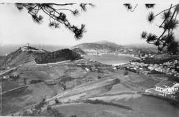SAN SEBASTIAN - VISTA GENERAL - DATED 1960 ~ AN OLD REAL PHOTO POSTCARD #96784 - Guipúzcoa (San Sebastián)