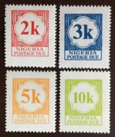 Nigeria 1973 Postage Due Set MNH - Nigeria (1961-...)