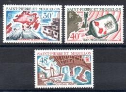 S.P.M. - YT N° 376 à 378 - Neufs ** - MNH - Cote: 33,30 € - St.Pierre & Miquelon