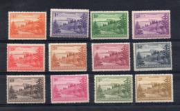 ISOLA NORFOLK - 1947 - Serie Ordinaria - 12 Valori . Nuovi - Linguellati * - (FDC16901) - Isola Norfolk