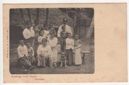 ° SRI LANKA ° CEYLON ° CEYLAN ° COLOMBO ° GREETINGS FROM CEYLON - COLOMBO ° - Sri Lanka (Ceylon)