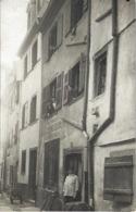 Colmar Carte Photo Rue Des Tripiers  Marqué Au Dos - Colmar