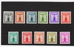 EBA577 DEUTSCHES REICH  1942 MICHL 155/65  DIENST ** Postfrisch Siehe ABBILDUNG - Unused Stamps