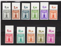 EBA578 DEUTSCHES REICH  1942 MICHL 155/65  DIENST ** Postfrisch Siehe ABBILDUNG - Deutschland