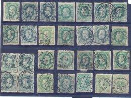 Nr. 30 Used (gestempeld) - 1869-1883 Leopoldo II
