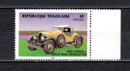 TOGO N° 1156  NEUF SANS CHARNIERE COTE  0.90€  AUTOMOBILE VOITURE ANCIENNE - Togo (1960-...)