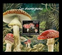 CAR 2019 Mih. 9085 (Bl.1884) Flora. Mushrooms MNH ** - Repubblica Centroafricana