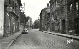 - Loire -ref-A984- Unieux -rue Holtzer -quartier Du Vigneron - Poste - Postes - Café Des Acieries - Tabacs - Journaux - - Frankreich