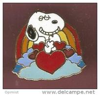38917-Pin's.Snoopy, Charlie Brown .Peanuts.BD.chien - BD