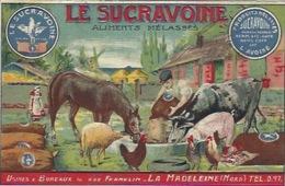 La Madeleine Près De Lille. Publicité Le Sucravoine Aliments Mélassés - La Madeleine