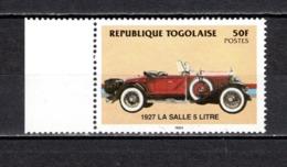 TOGO N° 1157  NEUF SANS CHARNIERE COTE  3.00€  AUTOMOBILE VOITURE ANCIENNE - Togo (1960-...)